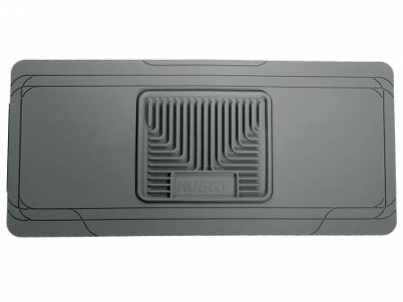 Husky Liners - Husky Liners Universal Classic Style Center Hump Gray Floor Mat (w/o Shifter Console)