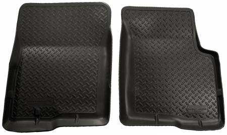Husky Liners - Husky Liners 04-08 Ford F-150 (Reg/Super/Super Crew)/Lincoln Mark LT Classic Style Black Floor Liner