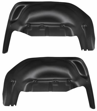 Husky Liners - Husky Liners 2019 GMC Sierra 1500 Black Rear Wheel Well Guards