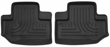 Husky Liners - Husky Liners 11-15 Jeep Wrangler 2 Door X-Act Contour Black 2nd Row Floor Liners