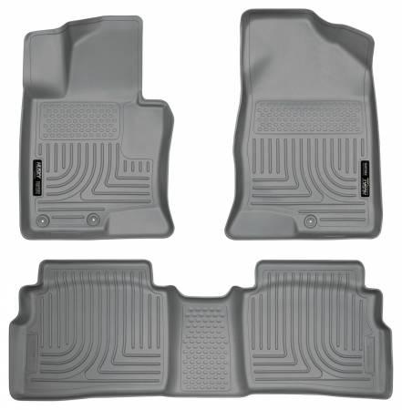 Husky Liners - Husky Liners 11-12 Hyundai Sonata WeatherBeater Combo Gray Floor Liners