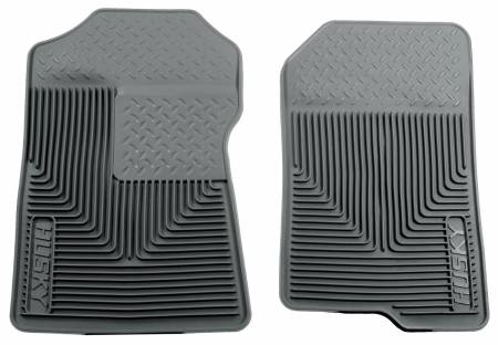 Husky Liners - Husky Liners 98-02 Ford Expedition/F-150/Lincoln Navigator Heavy Duty Gray Front Floor Mats