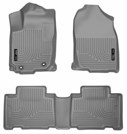 Husky Liners - Husky Liners 13 Toyota RAV4 Weatherbeater Grey Front & 2nd Seat Floor Liners