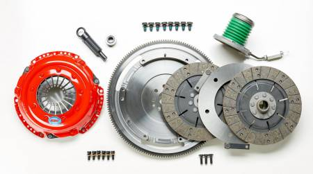 South Bend Clutch / DXD Racing - South Bend 05-10 Ford Mustang 4.6L (10T) Street Dual Disc Kit w/ Flywheel