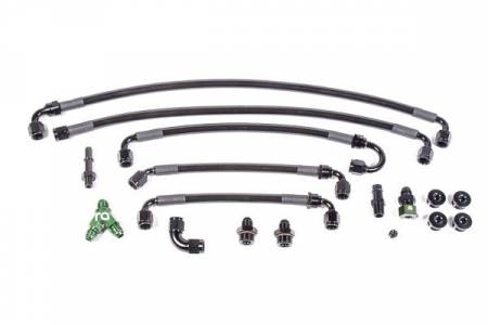Radium Engineering - Radium Engineering 11-17 Ford Coyote 5.0L Fuel Rail Plumbing Kit