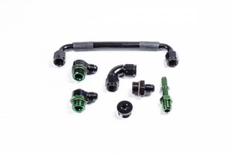 Radium Engineering - Radium Engineering Toyota 2GR-FE Fuel Rail Plumbing Kit