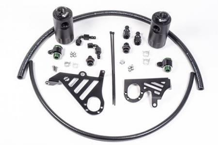 Radium Engineering - Radium Engineering 2013+ Ford Focus ST Dual Catch Can Kit