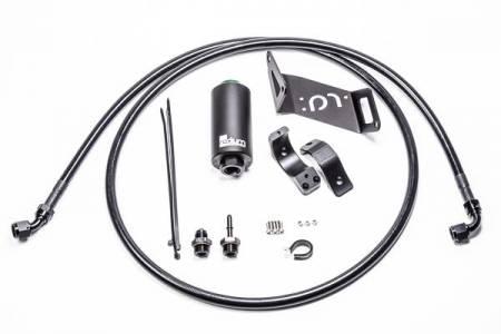 Radium Engineering - Radium Engineering BMW Fuel Hanger Feed w/ Microglass Filter
