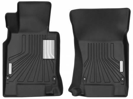 Husky Liners - Husky Liners 11-13 Infiniti M37/M56 14-18 Infiniti Q70 Mogo Black Front Row Floor Liners