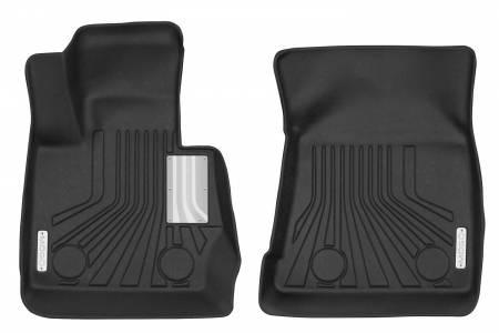 Husky Liners - Husky Liners 2011-2017 BMW X3 Mogo Black Front Row Floor Liners