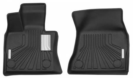 Husky Liners - Husky Liners 2014-2017 BMW X5 Mogo Black Front Row Floor Liners