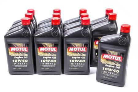 Motul - Motul Motor Oil - Break-In - High Zinc - 10W40 - Conventional - 1 qt - Set of 12