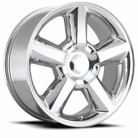 Factory Reproductions Wheels - FR Series 31 Replica Chevy Tahoe Wheel 20X8.5 6X5.5 ET30 78.1CB Polished