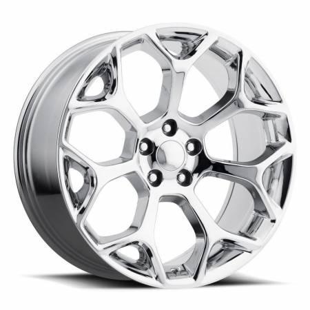Factory Reproductions Wheels - FR Series 71 Replica Chrysler 300 Wheel 22X9 5X115 ET18 71.5CB Chrome