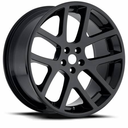Factory Reproductions Wheels - FR Series 64 Replica Dodge Viper Wheel 22X10 5X115 ET18 71.5CB Gloss Black