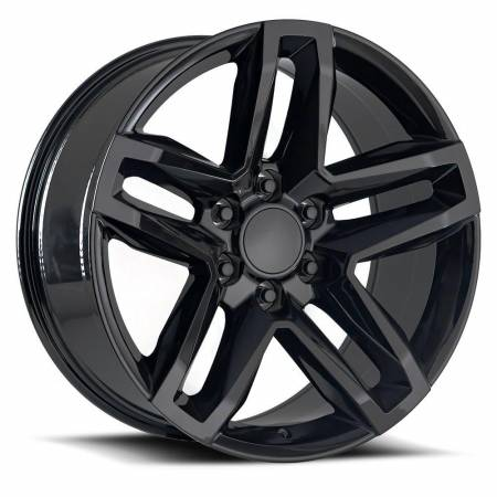 Factory Reproductions Wheels - FR Series 94 Replica Z71 Wheel 20x9 6X5.5 ET15 78.1CB Gloss Black