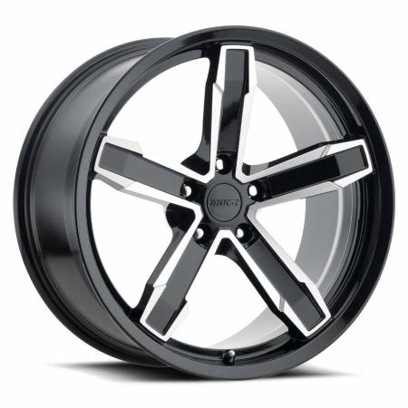 Factory Reproductions Wheels - FR Series Z10 Replica Iroc Wheel 20x10 5X120 ET20 66.9CB Gloss Black Machine Face
