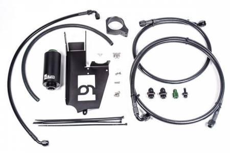 Radium Engineering - Radium Engineering Fuel Hanger Plumbing Kit Mitsubishi Evo 8/9 - Stainless Filter