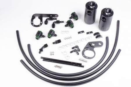 Radium Engineering - Radium Engineering 2017+ Honda Civic Type-R Dual Catch Can Kit