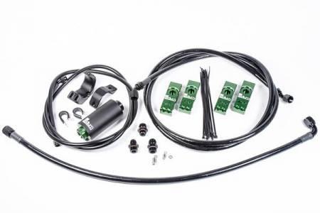 Radium Engineering - Radium Engineering Toyota Supra MK4 Fuel Hanger Plumbing Kit w/ Microglass Filter