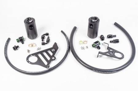 Radium Engineering - Radium Engineering 2016+ Ford Focus RS Dual Catch Can Kit