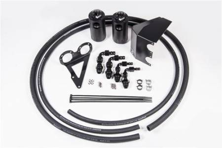 Radium Engineering - Radium Engineering 08-14 Subaru WRX STI Dual Catch Can Kit