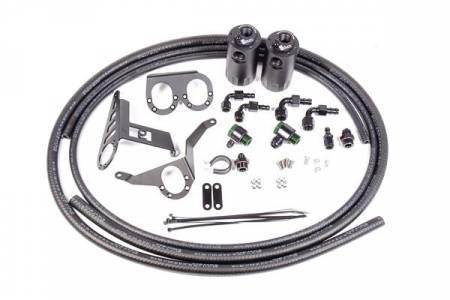 Radium Engineering - Radium Engineering Toyota Supra MKIV VTE Dual Catch Can Kit