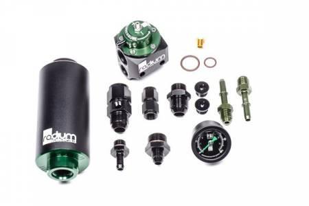 Radium Engineering - Radium Engineering Fuel Filter Kit & FPR Stainless BMW E46