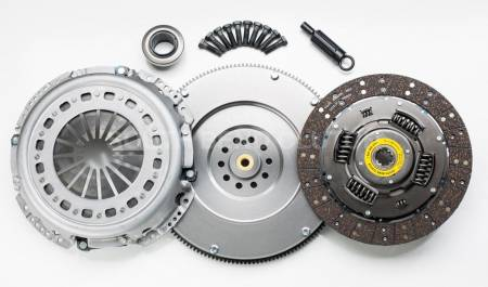 South Bend Clutch / DXD Racing - South Bend Clutch 94-98 Ford 7.3 Powerstroke ZF-5 Org Feramic Clutch Kit (Solid Flywheel)