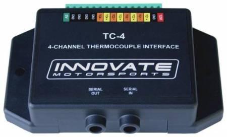 Innovate Motorsports - Innovate Motorsports TC-4 (4 Channel Thermocouple K-Type Amplifier)