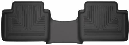 Husky Liners - Husky Liners 2019 Ford Ranger SuperCab Black 2nd Seat Floor Liner