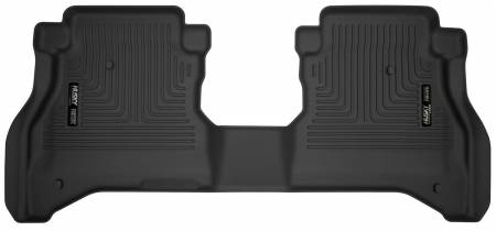 Husky Liners - Husky Liners 2020 Jeep Gladiator Crew Cab X-Act Contour Black Floor Liner (2nd Seat)
