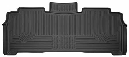 Husky Liners - Husky Liners 2017 Chrysler Pacifica (Stow and Go) 2nd Row Black Floor Liners
