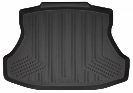 Husky Liners - Husky Liners 2012 Honda Civic (4DR/Non-Hybrid) WeatherBeater Black Trunk Liner
