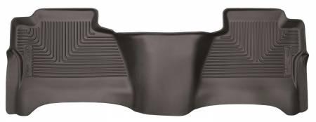 Husky Liners - Husky Liners 14-17 Chevrolet Silverado 1500 X-Act Contour Cocoa 2nd Seat Floor Liner