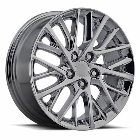 Factory Reproductions Wheels - FR Series 83 Replica Lexus ES350 Wheel 17x7 5X4.5 ET40 60.1CB PVD Black Chrome
