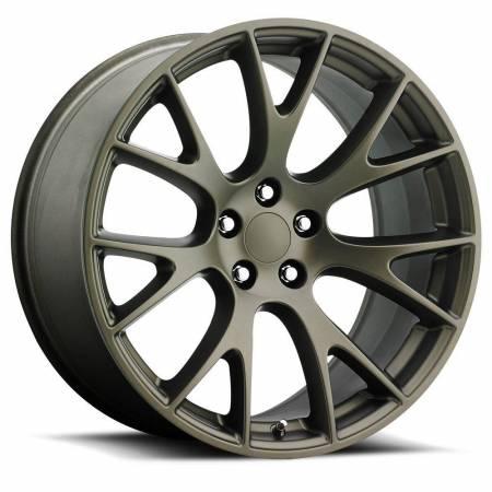 Factory Reproductions Wheels - FR Series 70 Replica Hellcat Wheel 22X9 5X115 ET18 71.5CB Bronze
