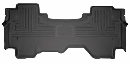 Husky Liners - Husky Liners 2019+ Dodge Ram 1500 Quad Cab WeatherBeater 2nd Seat Black Floor Liners