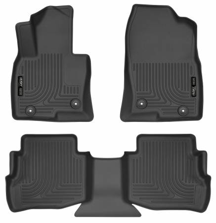 Husky Liners - Husky Liners 2017 Mazda CX-9 WeatherBeater Cargo Liner (Front and Second Rows) - Black