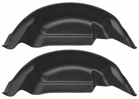 Husky Liners - Husky Liners 2015 Ford F-150 Black Rear Wheel Well Guards