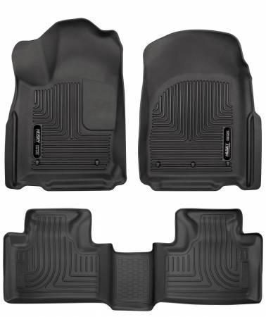 Husky Liners - Husky Liners 16 Dodge Durango/Jeep Grand Cherokee Weatherbeater Black Front & 2nd Seat Floor Liners