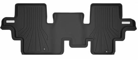 Husky Liners - Husky Liners 17-19 Infiniti Q60 Mogo Black Second Row Floor Liners