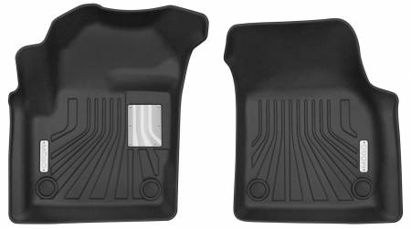 Husky Liners - Husky Liners 2015-2018 Land Rover Discovery Sport Mogo Black Front Row Floor Liners