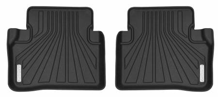 Husky Liners - Husky Liners 2017-2018 Mercedes-Benz E300 Sedan Mogo Black Second Row Floor Liners