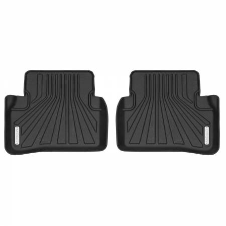 Husky Liners - Husky Liners 14-18 Mercedes Benz C300 Sedan/C63 AMG Sedan Mogo Black Second Row Floor Liners