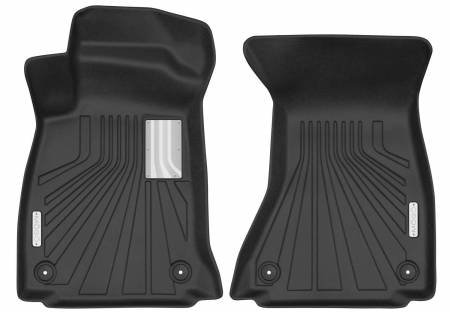 Husky Liners - Husky Liners 2017-2018 Audi A4 Mogo Black Front Row Floor Liners