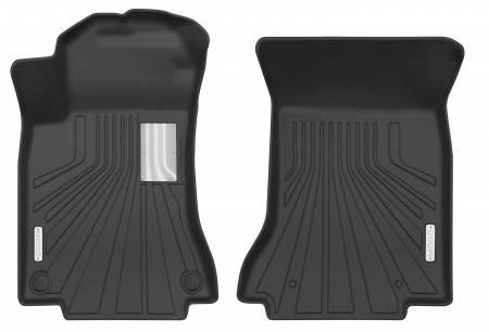 Husky Liners - Husky Liners 14-18 Mercedes Benz CLA250/CLA45 AMG Mogo Black Front Row Floor Liners