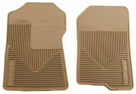 Husky Liners - Husky Liners 98-02 Ford Expedition/F-150/Lincoln Navigator Heavy Duty Tan Front Floor Mats