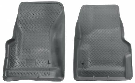 Husky Liners - Husky Liners 97-06 Jeep Wrangler Classic Style Gray Floor Liners