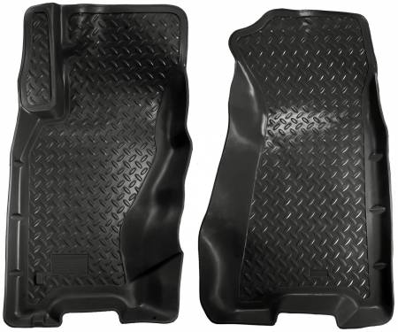Husky Liners - Husky Liners 99-04 Grand Cherokee (4DR) Classic Style Black Floor Liners